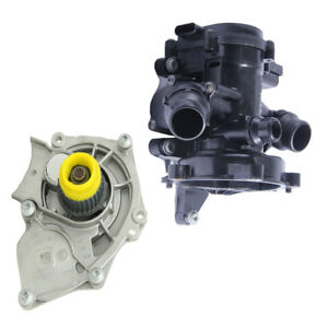 For VW GOLF MK7 AUDI A3 A4 A6 Q5  Water Pump Thermostat Housing Assembly 1.8T