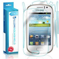 2x iLLumi AquaShield Front Screen + Back Panel Protector for Samsung Galaxy Fame