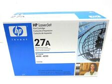 HP LASERJET PRINT TONER CARTRIDGE C4127A, 27A, 4000-4050, BLACK, DATE CODE 10-09