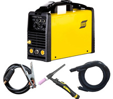 Esab Buddy Tig 160amp High Frequency Tig Welder 220v Torch