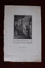 ✒ 1807 Nicolas BOILEAU DESPREAUX gravure sur HOLLANDE pour le LUTRIN Renouard