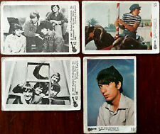 Monkees Raybert Productions / Screen gems Inc. 4 x Trading Cards 1967