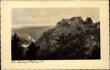 Freyburg Sachsen-Anhalt Unstrut 1929 Neuenburg Burg Castle Verlag Finke gelaufen