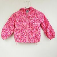 Lego Wear Pink with Red Flowers Jacket 58-120/7Y Excellent Condition Child