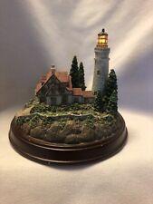 "Thomas Kinkade ""Clearing Skies� Lighthouse Works!"