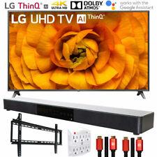 "Lg 82Un8570Puc 82"" Uhd 4K Hdr Ai Smart Tv (2020) with Deco Gear Soundbar Bundle"