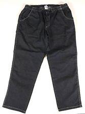 Übergrößen!! schicke Jogging-Jeans Schlupf-Jeans Gummibund bequem 4 Farb 3-12XL