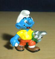 Smurfs Golf Smurf Golfing Figure 20460 Vintage Golfer Figurine PVC Toy 1998 Peyo