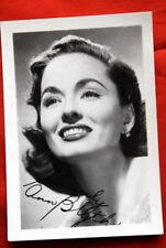 ANN BLYTH 1950's RARE AUTOGRAPHED FACSIMILE PHOTO