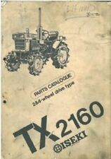 ISEKI TRACTOR TX2160 PARTS MANUAL