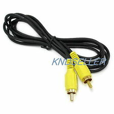 10M 30FT ( 2.8Ø Single RCA Composite Cable ) ALL Male 1RCA GOLD Audio Video