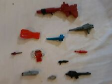 Vintage G1 TRANSFORMERS Weapon Armor Lot OF 11 1980'S lot # 8