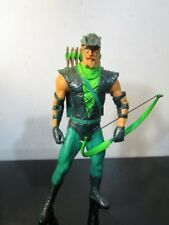 DC DIRECT COLLECTIBLES ALEX ROSS JUSTICE SERIES CLASSIC GREEN ARROW FIGURE~