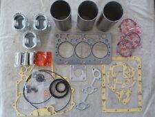 Kubota D722 Overhaul / Rebuild Kit (Pistons Rings Liners Bearings Gasket Set)