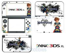 Kingdom Hearts 3 Vinyl Skin Stickers Decals for Nintendo New 3DS XL 2015 Anime