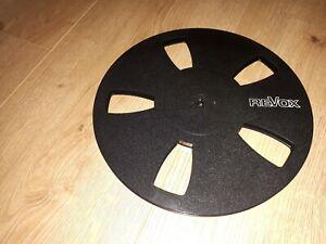 Revox Spule Reel 26,5cm Tonbandspule Leerspule mit Schuber top Zustand