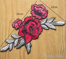 Lace Embroidered Neckline Venise Floral Neck Collar Trim Clothes Applique Patch