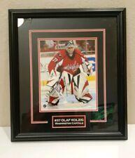 Olaf Kolzig Washington Capitals  NHL Autograph AUTO