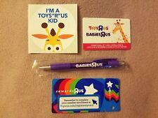 New Limited Babies Toys R Us Memorabilia Collectible Tru Bru Geoffrey Vntg Rare