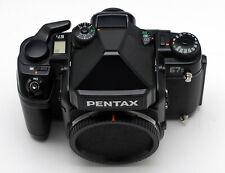 Pentax 67II with AE Penta-Prism Finder
