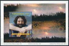 Tansania - Jerry García Block 305 postfrisch 1995 Mi. 2231
