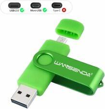 Pen Drive USB 16GB Penna Flash Pennetta OTG 2 16GB, Verde