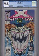 X-Factor #30 CGC 9.6 1988 Marvel Comic 1st App Nanny Cameo: NEW CGC FRAME