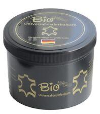 BIO Lederbalsam 500ml mit echtem Bienenwachs schwarze Dose #6884