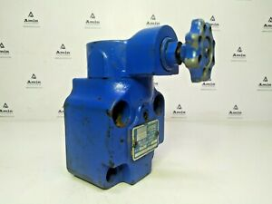 Vickers CG 06 B 10 UG Relief valve Range: 75-1000 psi Pressure relief valve
