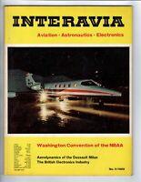 INTERAVIA. Aviation/Astronautics/Electronics - novembre 1969