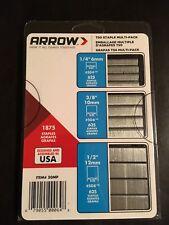 Arrow Fastener 50MP T50 Staple Multi-Pack, 1875-Pack New