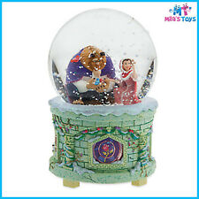 Disney Beauty and the Beast Light-Up Musical Snowglobe brand new