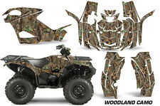 AMR Racing Yamaha Grizzly EPS/EPS Graphic Kit Wrap Quad Decals ATV 2015+ WOODLND