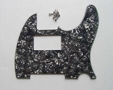 Black Pearl Telecaster Tele Humbucker Guitar Pickguard Scratch Plate w/ Screws