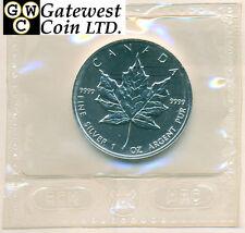 1996 Canada 1 oz .9999 Fine Silver Maple Leaf KEY DATE!! *No Tax (11449)