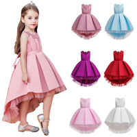 Flower Girl Princess Dress Kids Birthday Party Wedding Pageant Tutu Dresses Gown