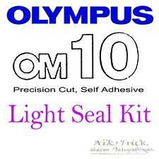 Olympus OM10 ~ Precision New Cut Light Seal Kit ~ 3 Caméras WORTH!