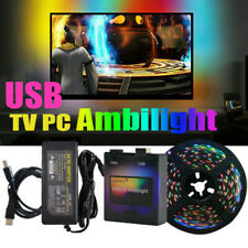 DIY Ambilight USB TV PC Dream Screen LED Strip Dimmable Fantasy Screen Backlight