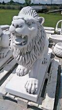 Löwe Figur Deko Löwenbaby sitzend Dekoration Wildtiere Gartendeko lebensecht NEU
