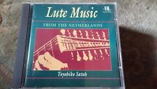"Toyohiko Satoh,""Lute Music from the Netherlands"" Rare NM Classics CD"