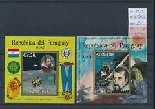 LL96292 Paraguay 1971 Kepler rocket sheets MNH cv 24 EUR