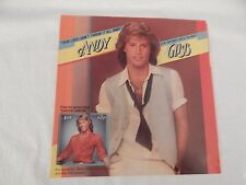 """Andy Gibb """"(Our Love) Don't Throw It Away"""" PICTURE SLEEVE! MINT! ONLY NEW COPY!"""