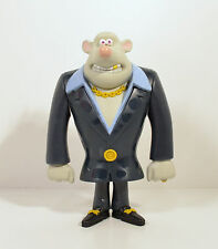"""2006 Whitey Whtie Rat 5.5"""" McDonald's Happy Meal Action Figure #6 Flushed Away"""