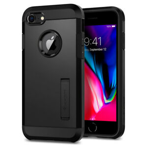 iPhone 8 7 Case I Spigen®[Tough Armor 2nd Gen] Dual Layered Protective Cover