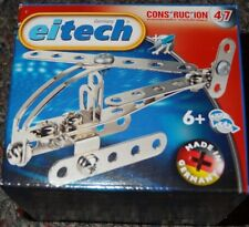 Mini Helicopter Eitech C47 Metal Construction Building Toy Model Steel
