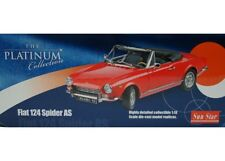 car 1/18 SUN STAR 4901 FIAT 124 SPIDER AS 1966 RED NEW BOX