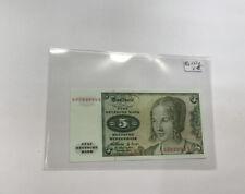 5 dm bank note 1960 ro 262e
