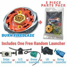Burn Fireblaze BB-59 Beyblade w/ Free Launcher & Tips / Parts / Card Gift Pack