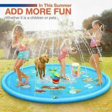 Splash Pad, Sprinkler Play Matte, Sommer Garten Wasserspielzeug Kinder Pool Pad