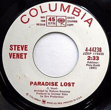 STEVE VENET Sunshine Pop WHITE LABEL PROMO 45 Paradise Lost Penthouse Two F2311